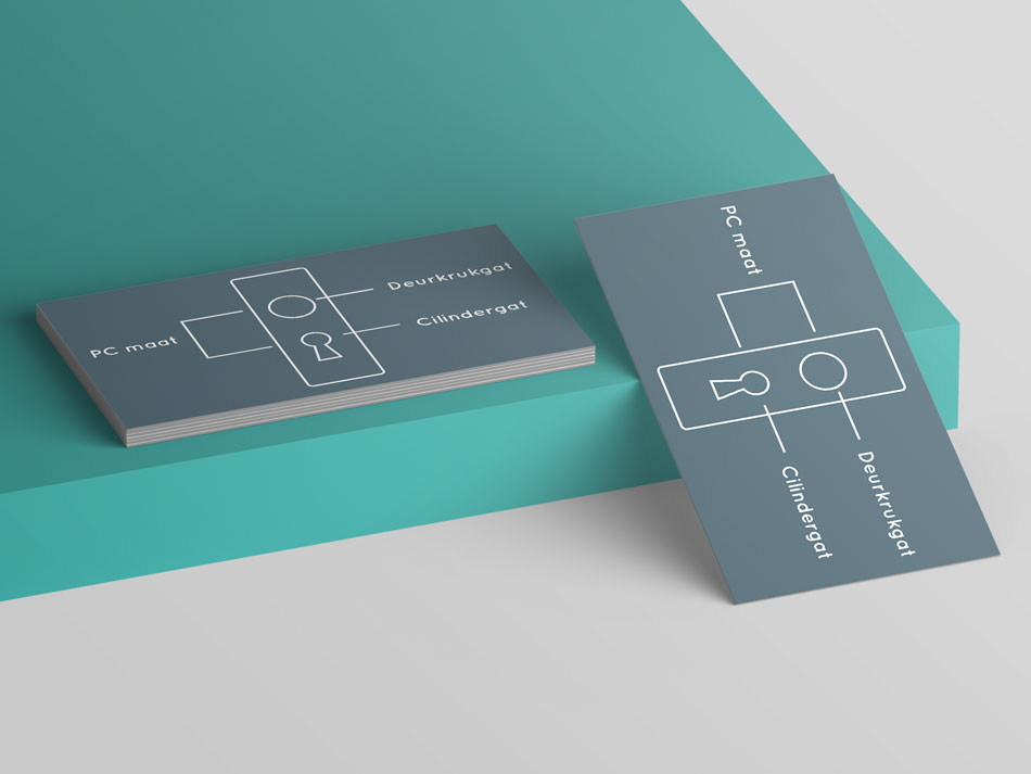 Visuals voor Van Rumpt Specialisten door Nien design